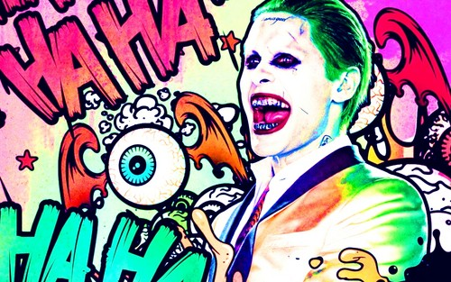 Suicide Squad wallpaper containing animê entitled The Joker