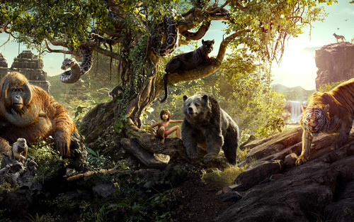 The Jungle Book wallpaper entitled The Jungle Book Cast