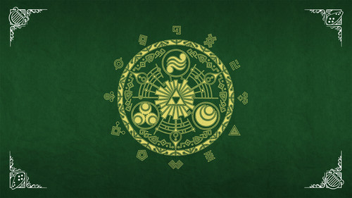 The Legend of Zelda wallpaper possibly containing a sign and a paisley called The Legend of Zelda