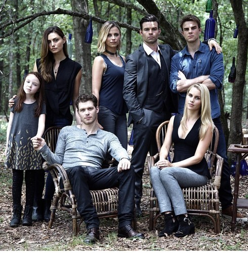 The Originals wallpaper probably containing a business suit titled The Mikaelsons