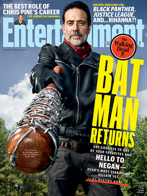 The Walking Dead Season 7 Entertainment Weekly Cover