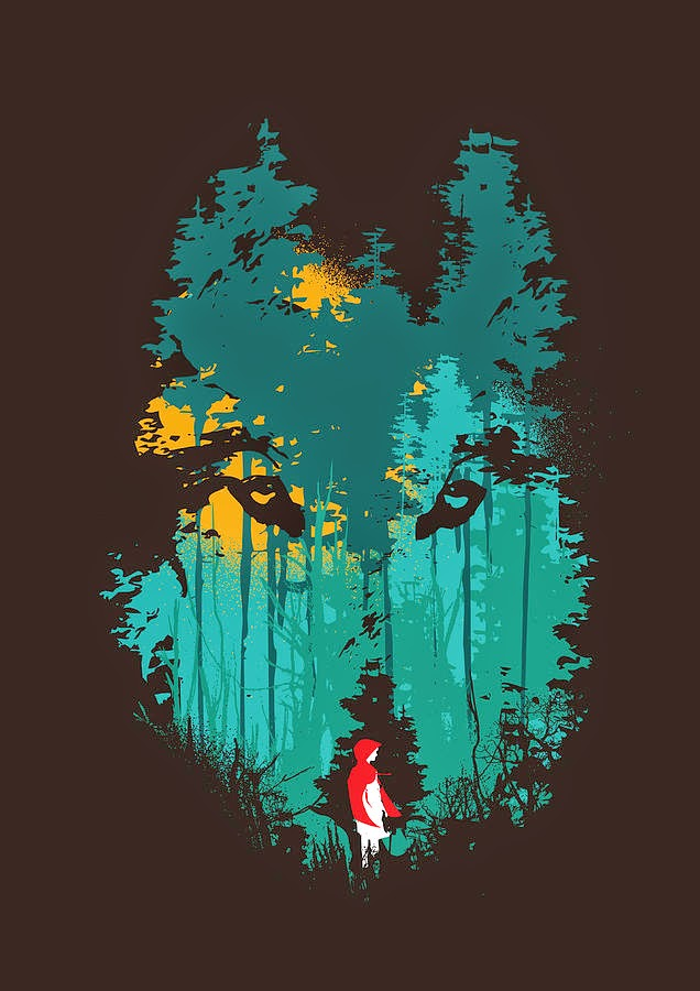The Woods Belong to Me (Little Red Riding Hood)