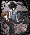 Tim Burton x Death Note - anime photo
