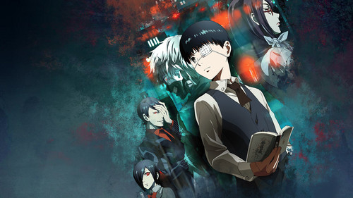 Tokyo Ghoul (Токийский гуль) Обои possibly with a diving suit called Tokyo Ghoul
