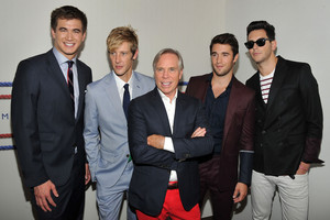 Tommy Hilfiger Men's - Backstage - Spring 2013 Mercedes-Benz Fashion Week