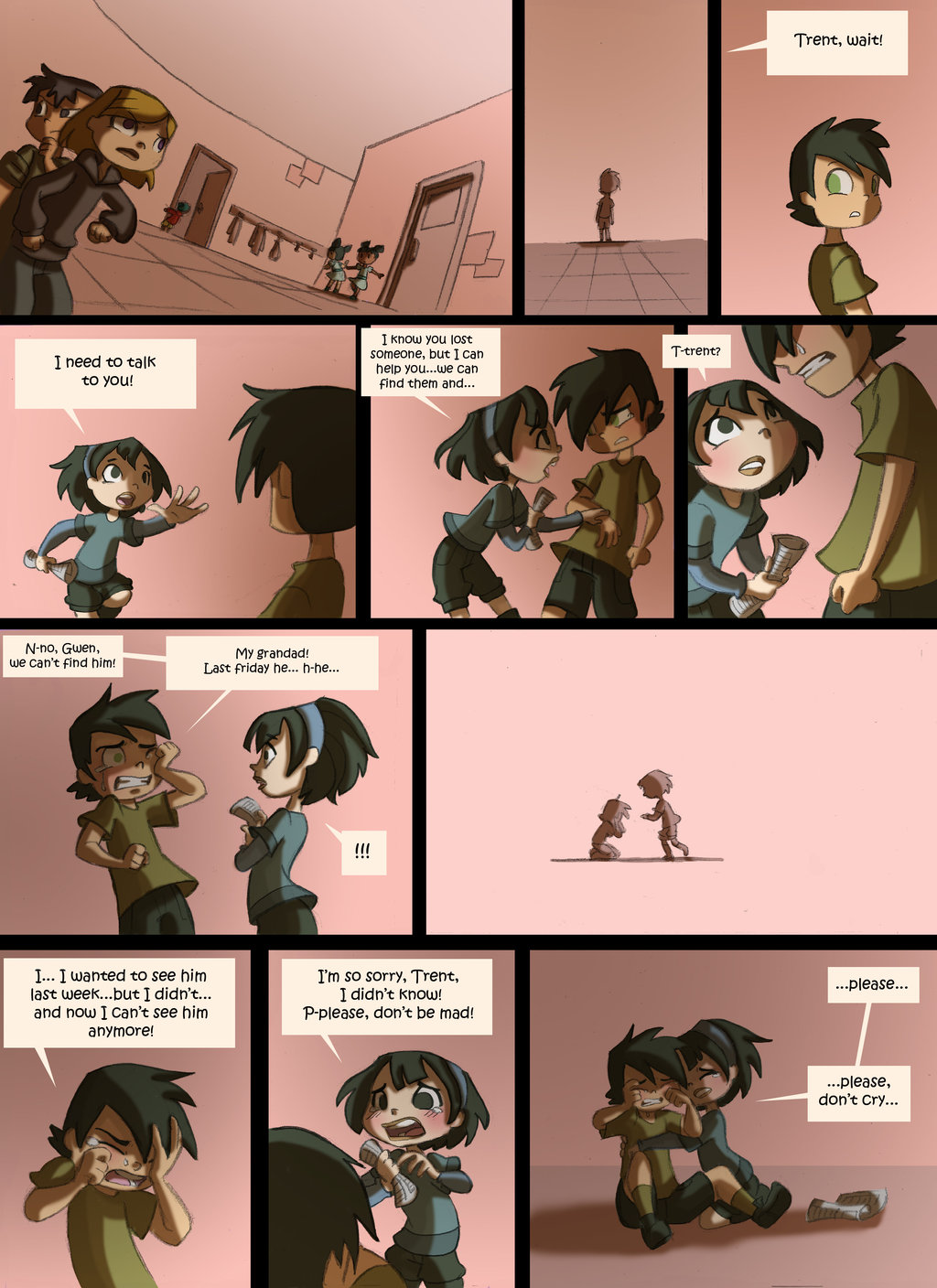Total Drama Kids Comic Page 43