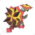 Turtonator, the Blast Turtle Pokemon - pokemon photo