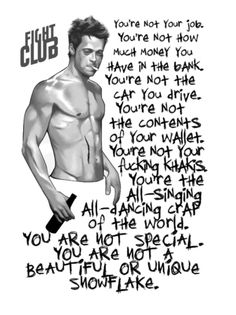 Tyler Durden Quote