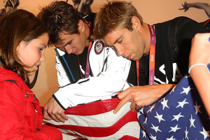 US Olympic Athlete Medalists Visit USA House