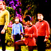 Uhura, Kirk, Bones and Scotty - star-trek icon