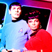 Uhura and Spock - star-trek icon