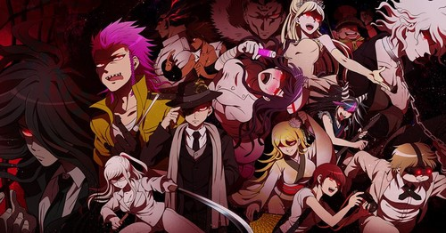 Dangan Ronpa wallpaper containing animê called Ultimate Despair