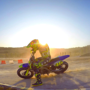 Vale at the VR46 Ranch