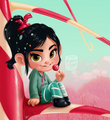 Vanellope Von Schweetz - childhood-animated-movie-characters fan art