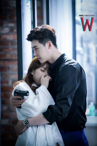 Корейские сериалы Обои entitled W - Two Worlds