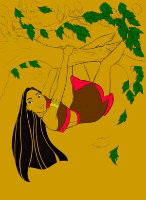 Walt Disney Coloring Pages - Pocahontas