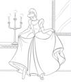 Walt Disney Coloring Pages - Princess Cinderella - walt-disney-characters photo