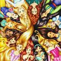 Walt Disney Princesses - walt-disney-characters fan art