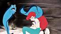 Walt Disney Screencaps - Flotsam, Jetsam & Princess Ariel - walt-disney-characters photo