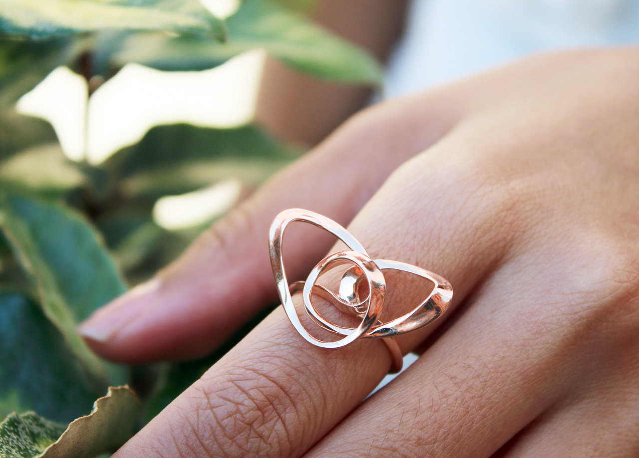 vulcanjewelry images Wire Heart Ring Wire Art Jewelry Contemporary