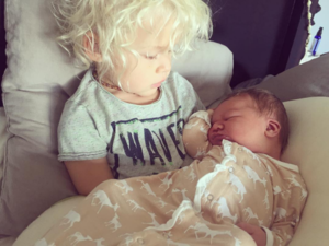 Wyatt Oliver Olsen and Esmé Olivia Olsen