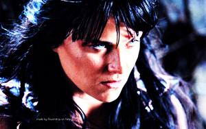 Xena Warrior Princess karatasi la kupamba ukuta