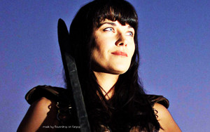 Xena Warrior Princess wolpeyper