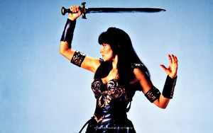 Xena Warrior Princess kertas dinding