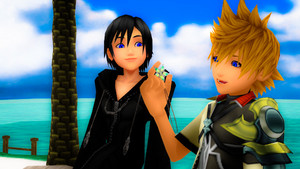 Xion and Ventus.