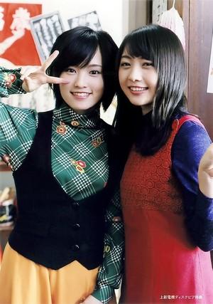Yamamoto Sayaka and Kizaki Yuria - Tsubasa wa Iranai