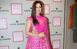 Yami Gautam in Anita Dongre for Vogue