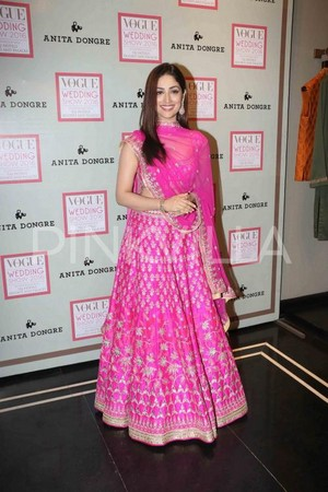 Yami Gautam in Anita Dongre for Vogue