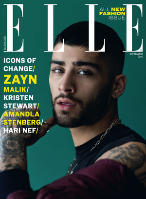 Zayn for Elle UK