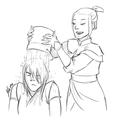 Zuko and Azula - avatar-the-last-airbender fan art