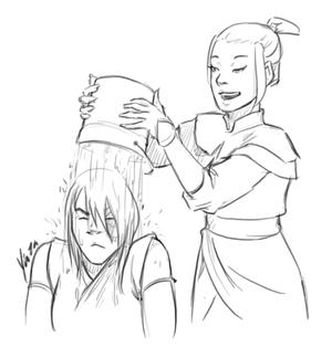 Zuko and Azula