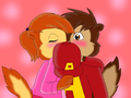 alvinxbrittany   surprise kiss by sokaifanforever d4il4lf - the-chipmunks-and-the-chipettes photo