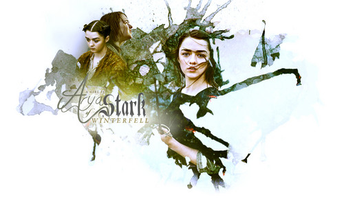 Game of Thrones wallpaper titled Arya Stark