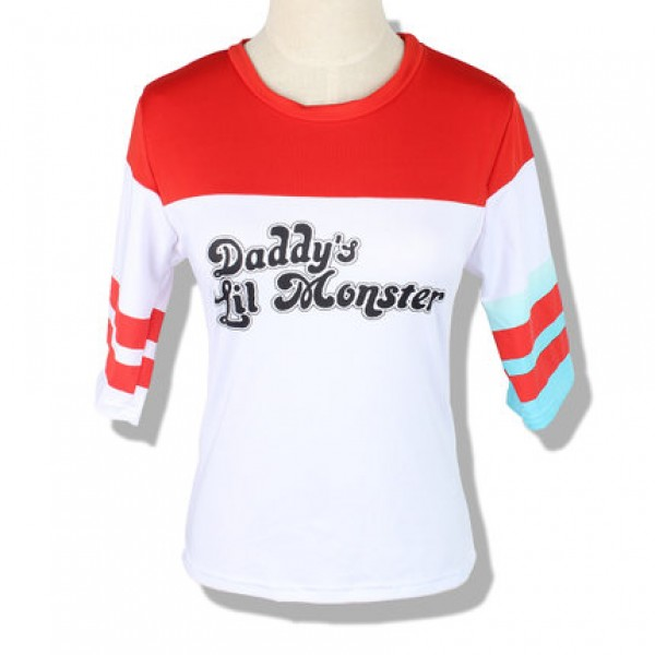 a8181f8e batman suicide squad harley quinn cosplay overhemd, shirt - Harley ...
