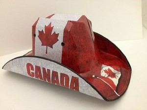 canadian flag beer box case hat 75728