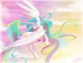 celestia - princess-celestia fan art