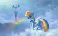 dash - rainbow-dash fan art