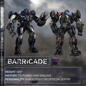 decepticon barricade tf 5