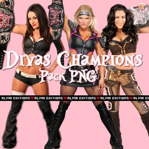 WWE Divas wallpaper called divas champions pack
