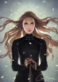 feyre the fox by charlie bowater