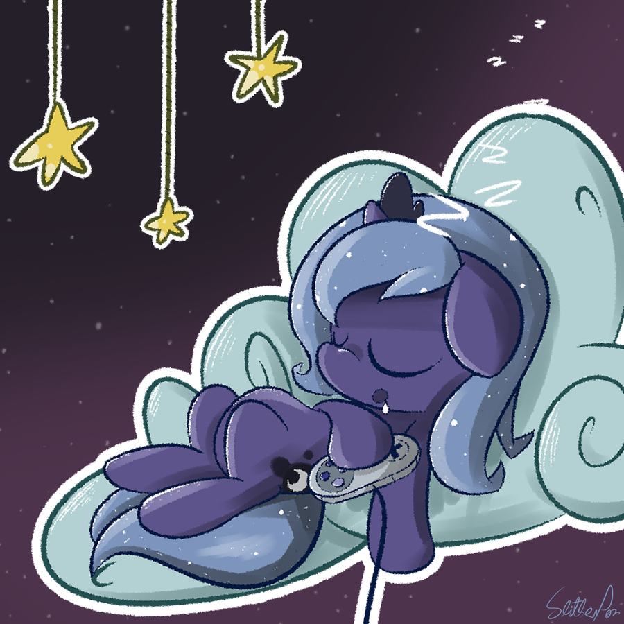gamer luna was a woona once