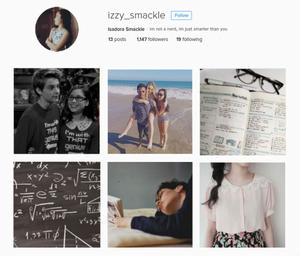 instagram aesthetics- isadora smackle