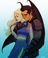 morrigan and azriel 의해 meabhdeloughry