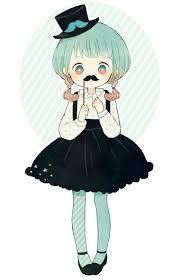 mustache cutie