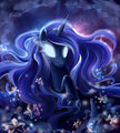 night dream princess - princess-luna fan art