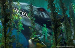 pliosaur kelp forest